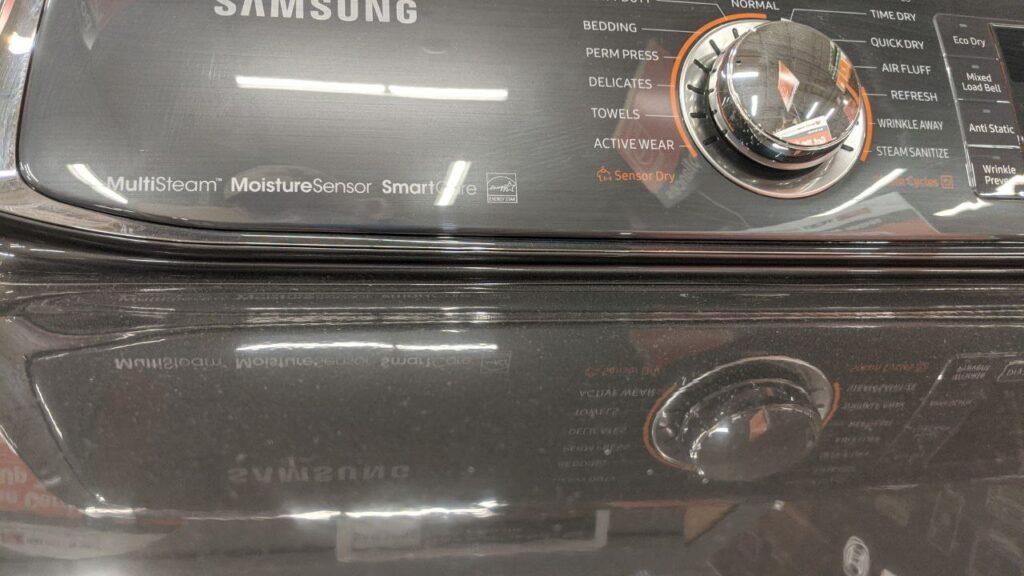 samsung washer main console